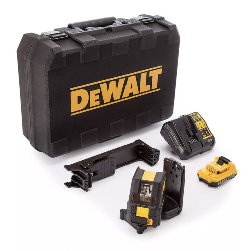 Dewalt DCE088D1G 10.8V Self Leveling Cross Line Green Laser
