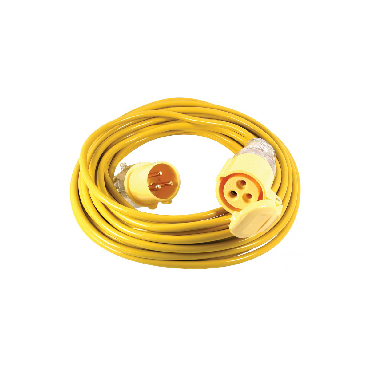 14 Metre 110V 16 Amp Extension Lead 1.5mm Cable