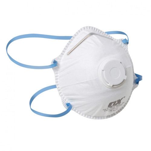 FFP2V Moulded Cup Respirator / Valve - 10PK