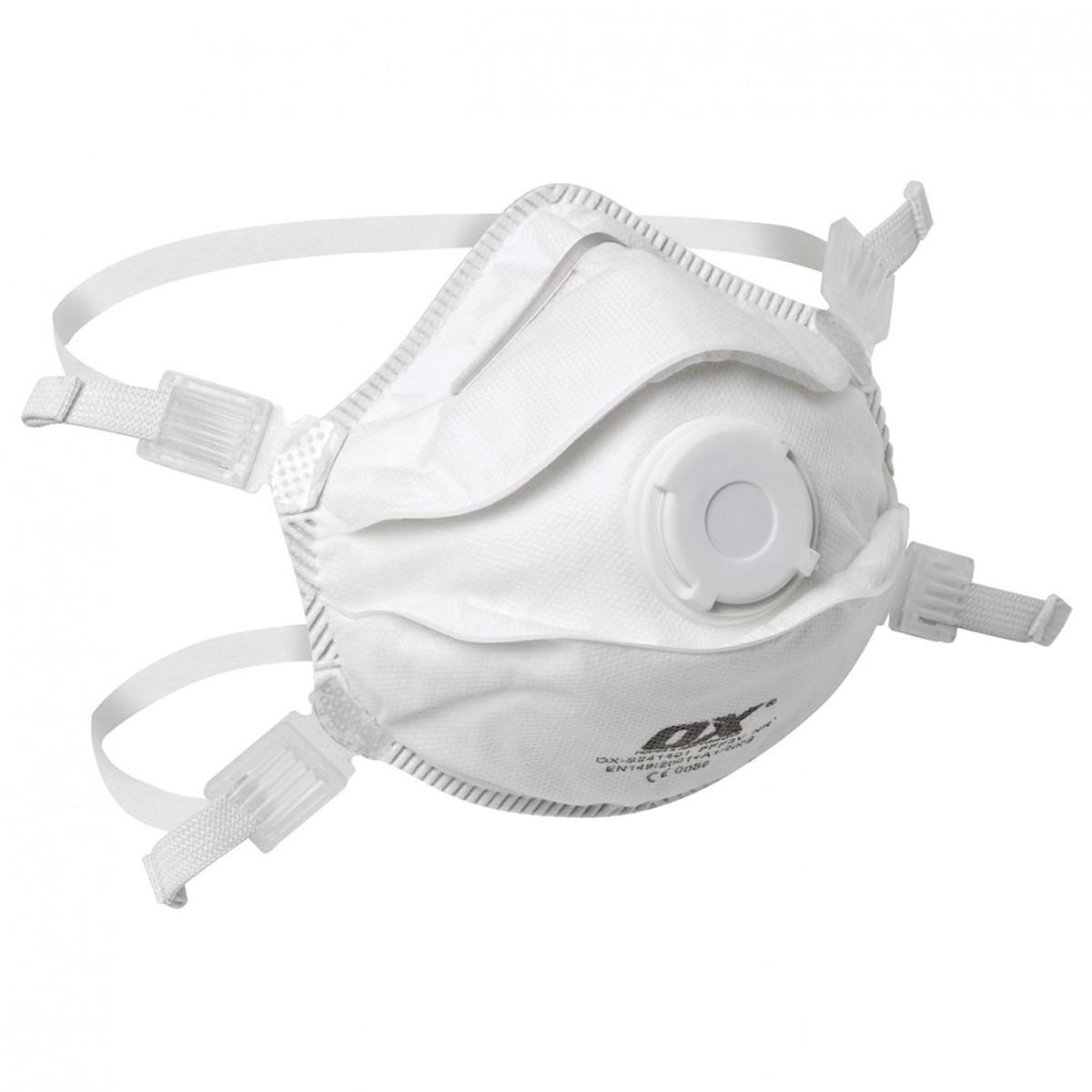 FFP3V Moulded Cup Respirator / Valve - 5PK