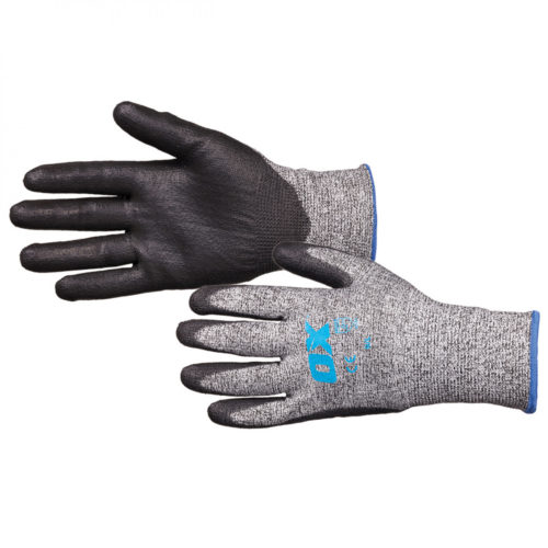 Cut 5 PU Grip Gloves