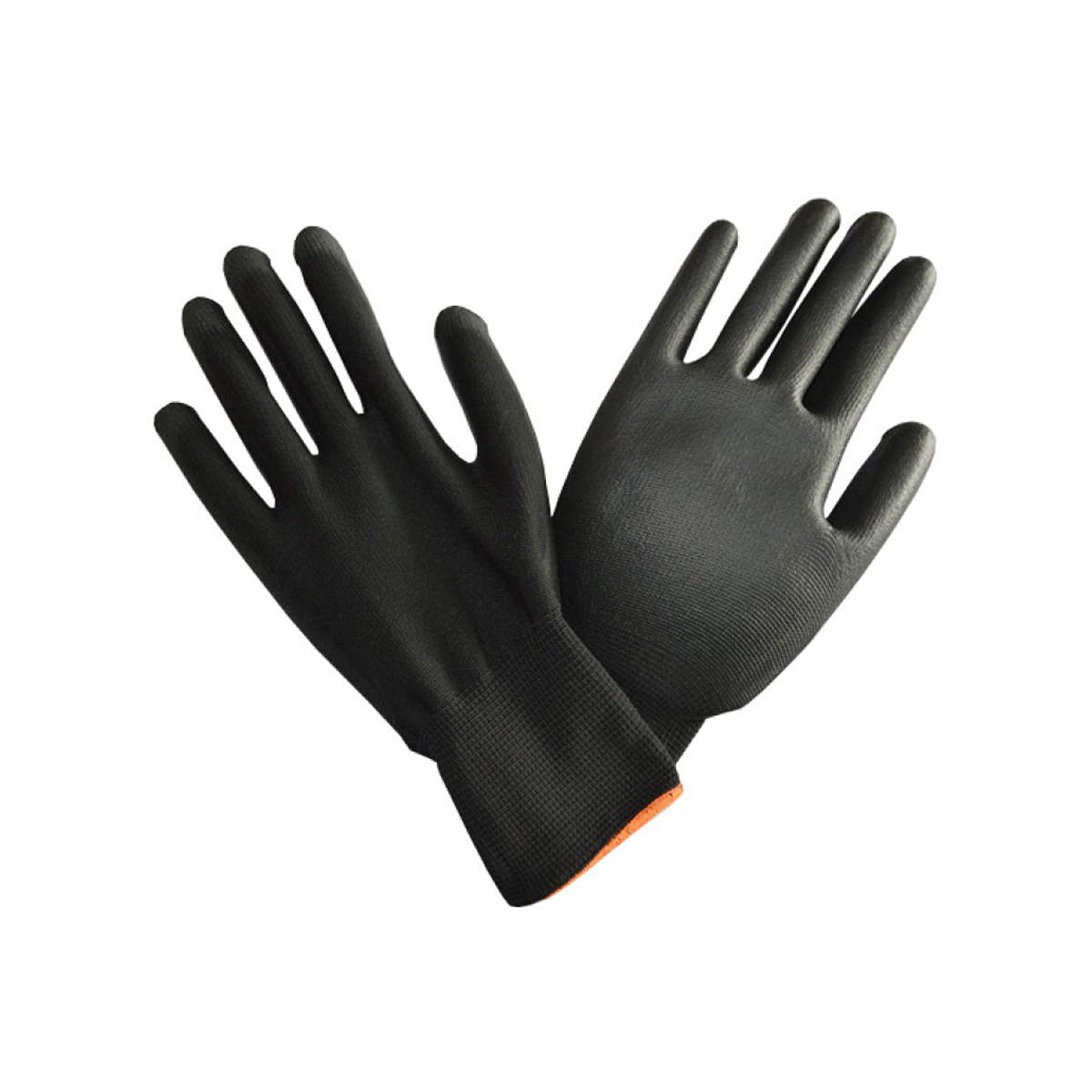 PTI Black Poly Gloves