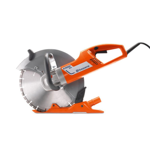 "350mm 14"" Electric Disc Cutter with Dust Suppression"