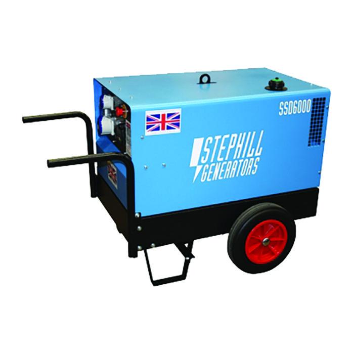 6kva (4.8 continuous) Super Silent Diesel Generator