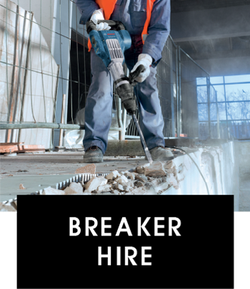 Breaker hire Brighton