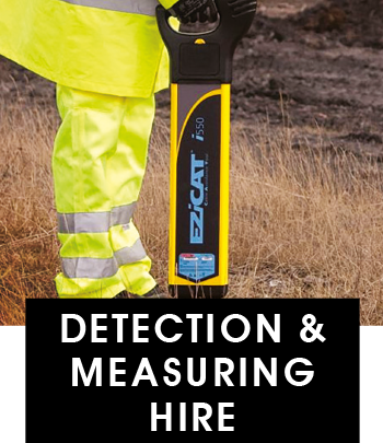 Detection and Measuring Hire Brighton