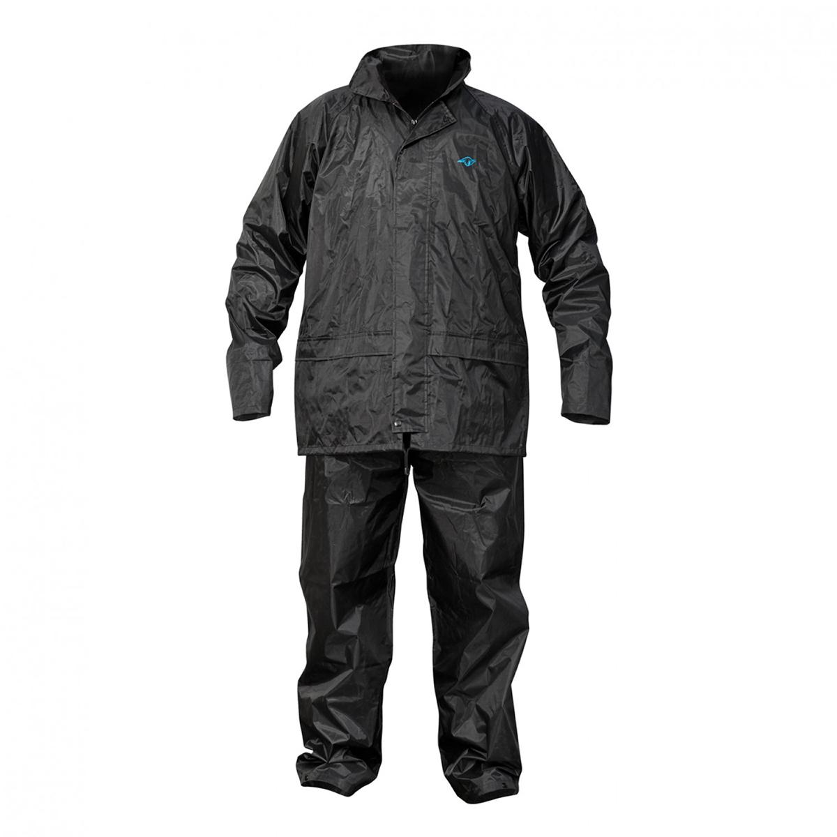 Waterproof Rainsuit - Black