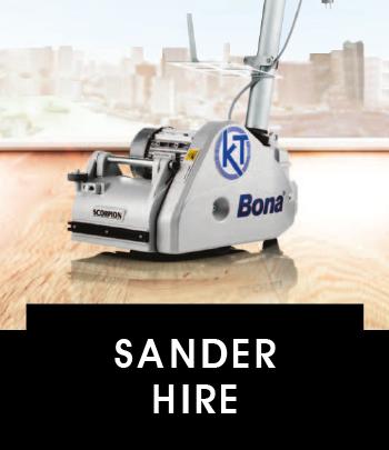 Sander hire Brighton