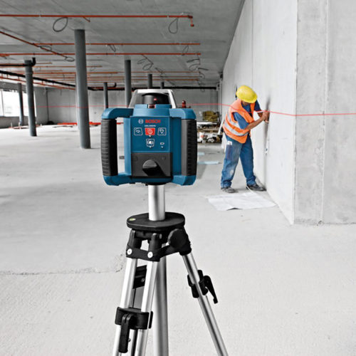 Rotary auto laser level