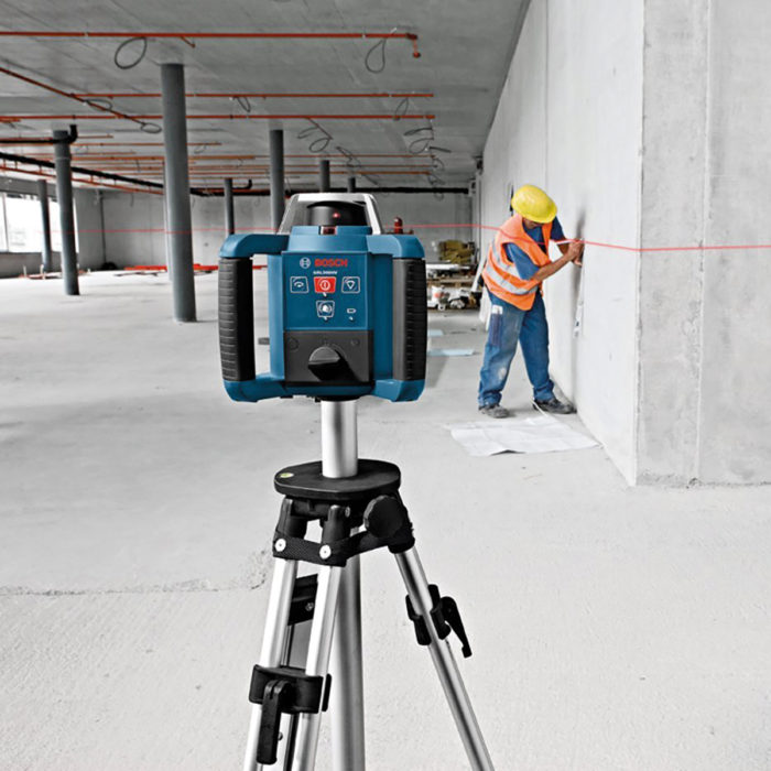 Rotary auto laser level