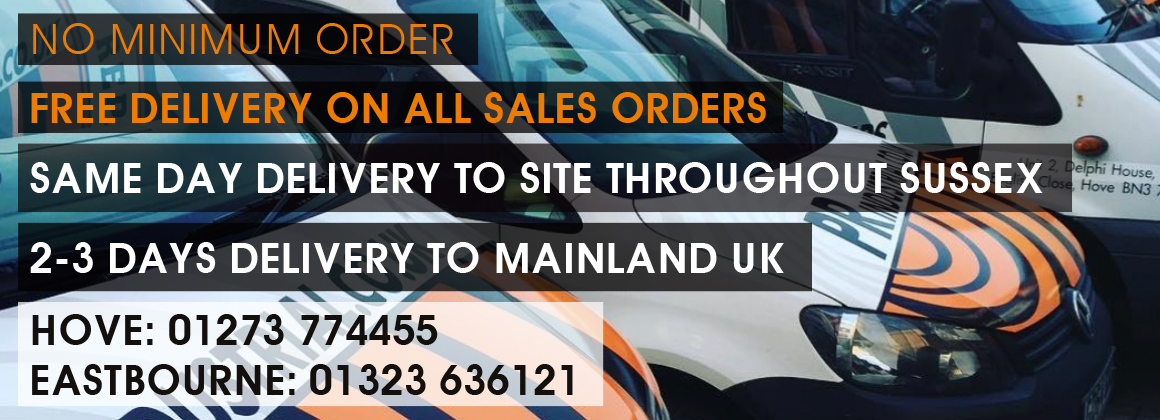 Free UK delivery on all sales orders no minimum order