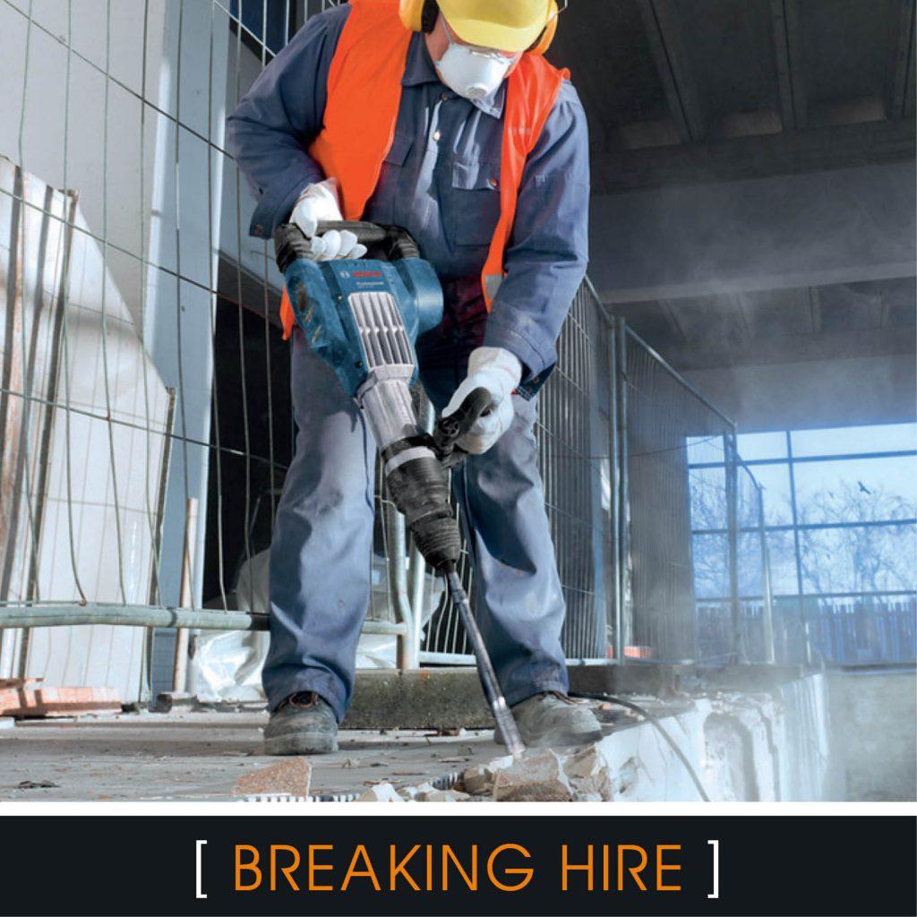Breaker hire Brighton