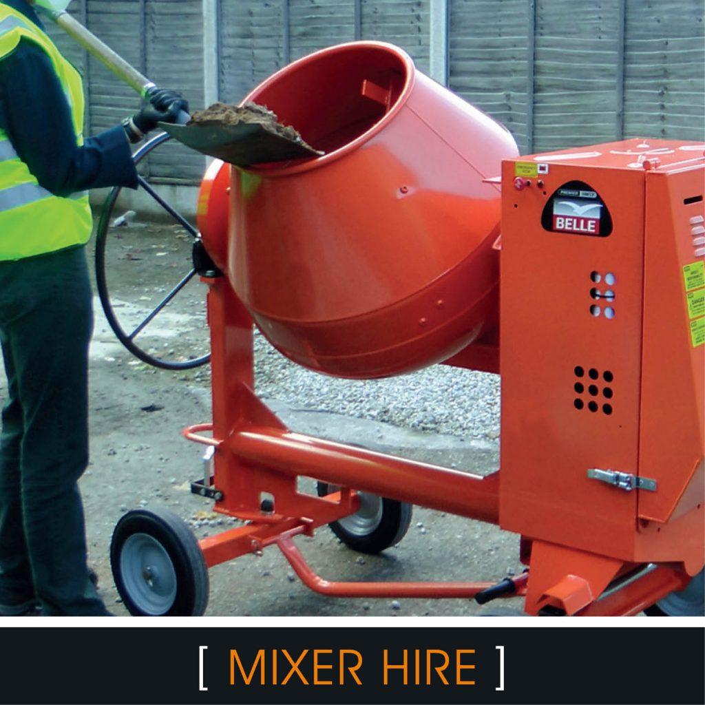 Mixer hire Brighton