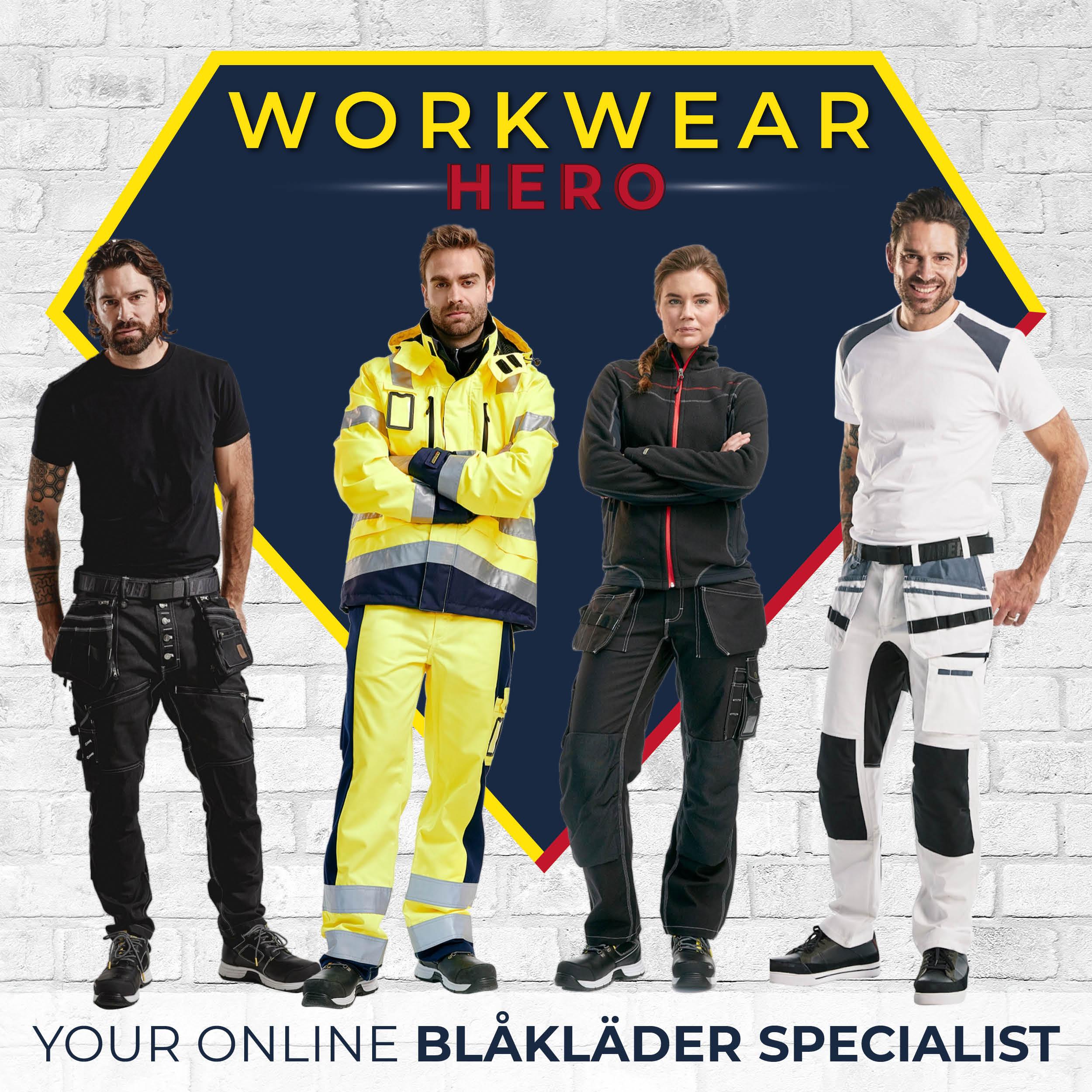 Workwear Hero our dedicated Blaklader workwear website