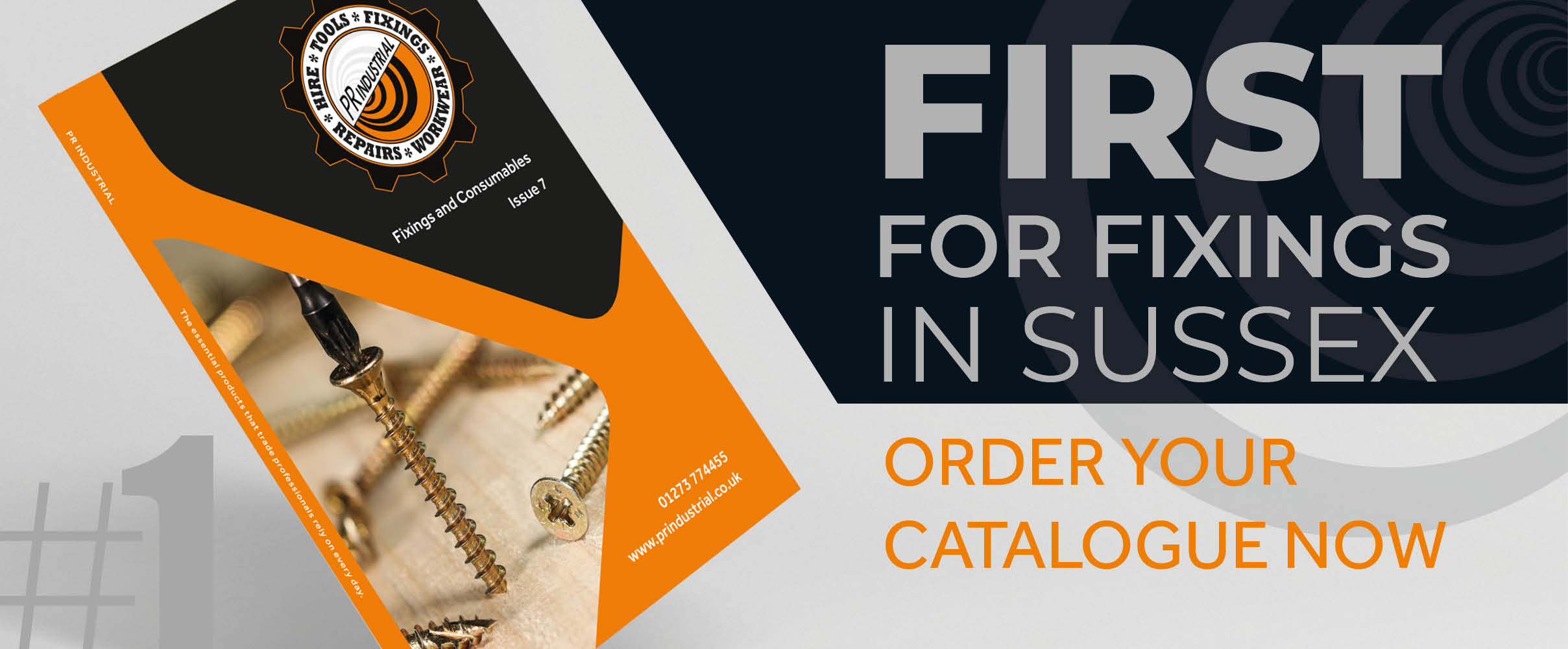 First for fixings - order your catalogue